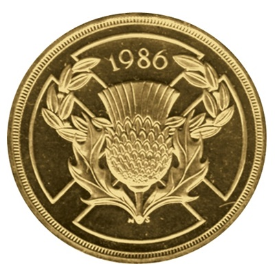 1986 £2 Coin - Commemorating Commonwealth Games